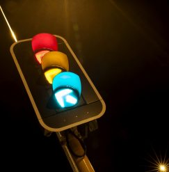 Rules for works at signalised intersections